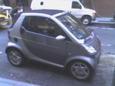 smartcar on 47th and madison